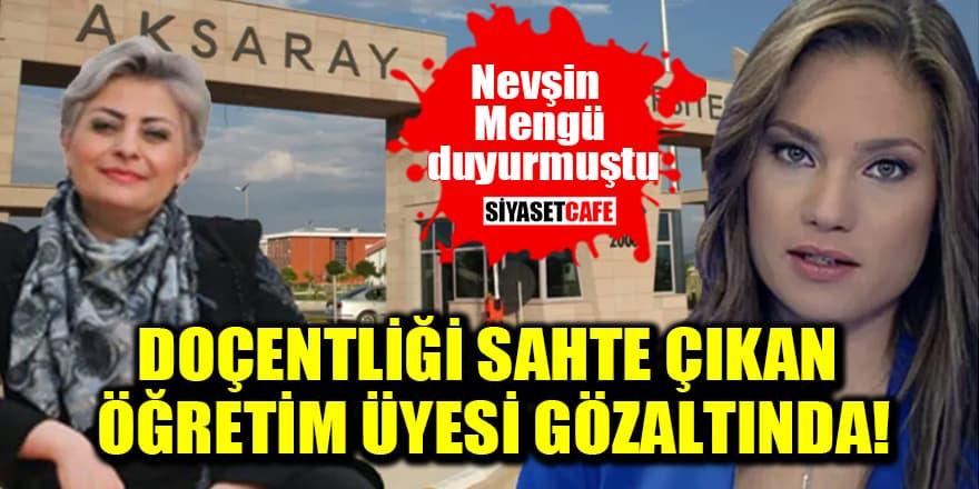 Doçentlik belgesi sahte çıkan öğretim üyesi gözaltına alındı!