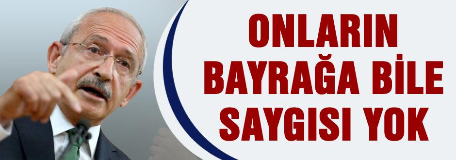 Kılıçdaroğlu Rize'de bayrak ile vurdu!