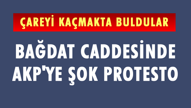Bağdat Caddesi'nde AK Parti'ye şok!