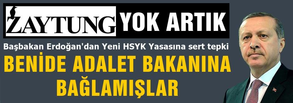 Yeni HSYK Tasarısına Sert Tepki