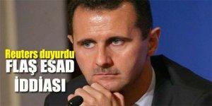 Flaş Esad iddiası