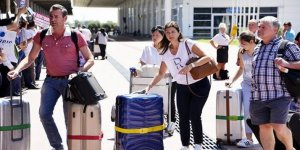 Antalya'ya gelen turist sayısında büyük artış