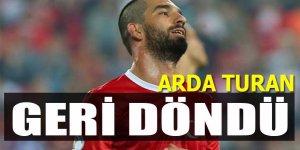 Arda Turan milli takıma döndüğünü açıkladı!