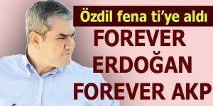 Özdil Erdoğan'ı fena ti'ye aldı...