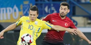 Milli Takım üzdü: Ukrayna-Türkiye: 2-0