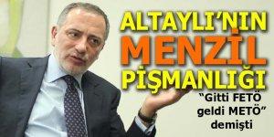 Fatih Altaylı'nın Menzil pişmanlığı