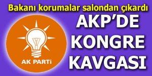 AKP'de kongre kavgası