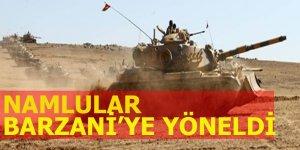 Namlular Barzani'ye yöneldi