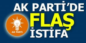 AK Parti'de flaş istifa