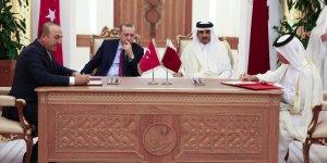Erdoğan, Katar'daki ilk anlaşmayı imzaladı