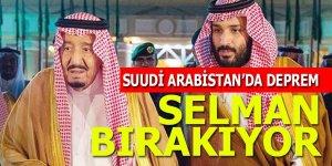 Suudi Arabistan'da deprem: Selman tahtı bırakıyor!
