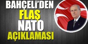 Bahçeli'den flaş NATO açıklaması