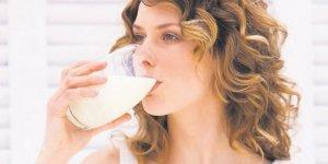 Yılbaşı kilolarına karşı günde 2 bardak süt için