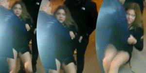 Dizi oyuncusu Feyza Civelek polisi ısırdı