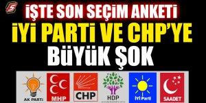 İşte son seçim anketi! İYİ Parti ve CHP'ye büyük şok