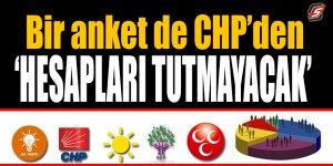 Bir anket de CHP'den! 'Hesapları tutmayacak'