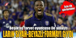 Beşiktaş forvet oyuncusu Larin'i KAP'a bildirdi