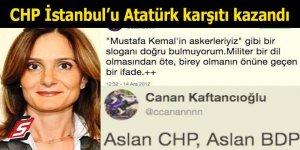 CHP İstanbul'u Atatürk karşıtı kazandı