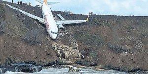 Trabzon'da ki uçak kazasıyla ilgili Bakanlıktan açıklama