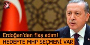 Erdoğan'dan flaş adım! Hedefte MHP seçmeni var!