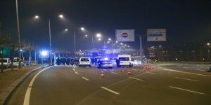 Cumhurbaşkanlığı Külliyesi Önünde Kaza Yapan Alkollü Sürücü Gözaltında