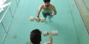 Hidroterapi yöntemi felçli hastalara umut oldu