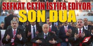MHP'de Şefkat Çetin depremi: İstifa ediyor!