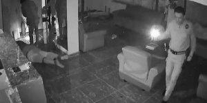 Otelde dehşet! Saldırı anı kamerada