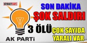 AK Partililere şok saldırı: 3 ölü çok sayıda yaralı var!