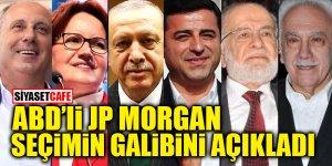 ABD'li JP Morgan seçimin galibini açıkladı