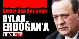 Çakıcı'dan flaş çağrı: Oylar Erdoğan'a!
