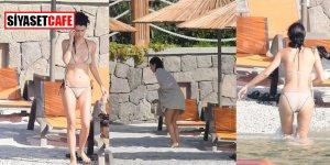 Beren'den plajda mıntıka temizliği
