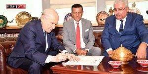 MHP'ye dönen Arkaz'dan ilk açıklama
