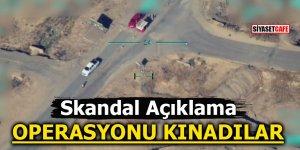 Skandal açıklama! 'Sincar operasyonunu kınıyoruz'