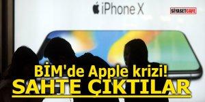 BİM'de Apple krizi! Sahte çıktılar