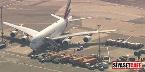 Büyük panik! 500 yolculu uçak karantinaya alındı