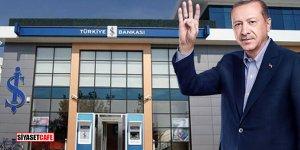 Erdoğan İş Bankası'nı vurdu: Sert düşüş