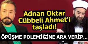 Adnan Oktar, cezaevinden Cübbeli Hoca'yı taşladı!