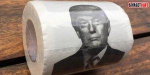 Trump'ı tuvalet kağıdı yaptılar!