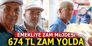Emekliye zam müjdesi! 674 TL ZAM YOLDA