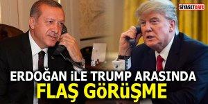 Erdoğan ile Trump arasında flaş görüşme!