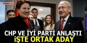 CHP ve İYİ Parti anlaştı! İşte ortak aday