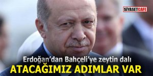 Erdoğan'dan Bahçeli'ye zeytin dalı: Atacağımız adımlar var!