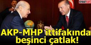 AKP-MHP ittifakında beşinci çatlak!