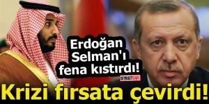 Erdoğan Selman'ı fena kıstırdı! Krizi fırsata çevirdi
