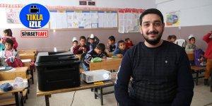 Bakan Mustafa Varank'tan köy okuluna teknoloji desteği