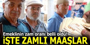 Emeklilerin zam oranı belli oldu! İşte zamlı maaşlar