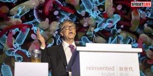 Bill Gates sahneye elinde insan dışkısıyla çıktı!