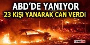 ABD YANIYOR! 23 Kişi yanarak can verdi