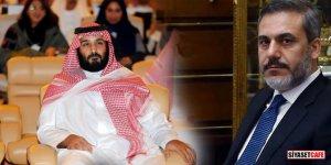 Hakan Fidan Prens Selman ile görüştü!